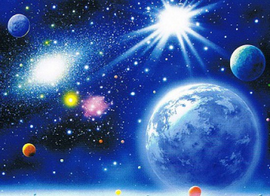 宇宙能量 自体发光